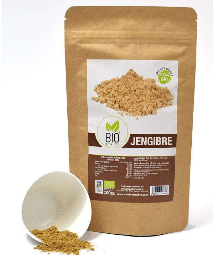Jengibre Bio, 100 g