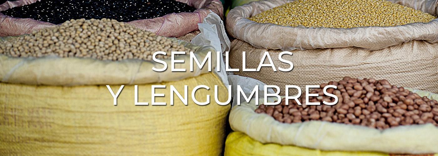 Semillas y Legumbres